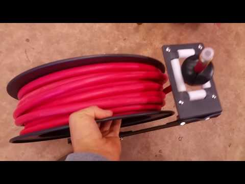 Simple Trick For Mounting Your Air Hose Reel -- WATCH THIS!