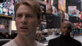 Стив Роджерс выходит из комы. Момент из фильма Первый Мститель.