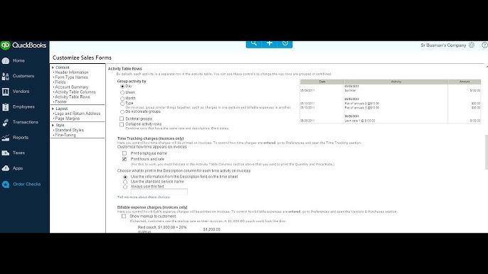 VPcontroller YouTube - Quickbooks invoice subtotal