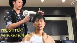 メンズのツーブロック【松田翔太風】簡単スタイリング動画です。 ベース...