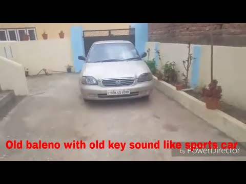 Old Baleno With Old Key Design Sound Like Sports Car 2006 Best