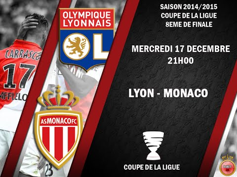 Olympique lyon monaco pes 2015 coupe de la ligue 2014 2015 1 8 me de finale cpu vs - Billetterie coupe de la ligue 2015 ...