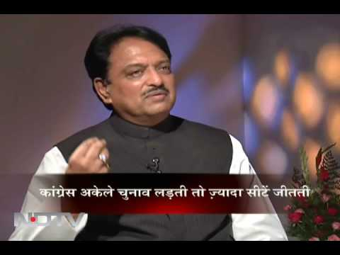 In conversation with Vilasrao Deshmukh