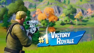 First win on Season 11 Fortnite