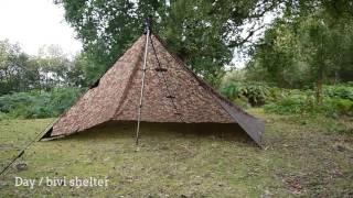 DD Tarp 3x3 - 11 shelter set-ups for bushcraft & survival