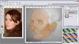 photoshop top secret- painting fantasy portraits (part 2)