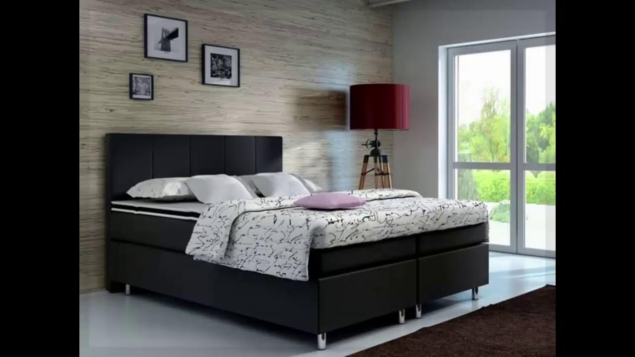 moderne schlafzimmer mit boxspringbett   YouTube