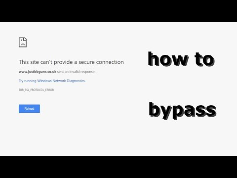 how to bypass this site can rsquo t provide a secure connection