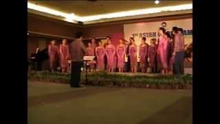 Chua-Ay - LPU Chorale (1st Asian Choir Games 2007)