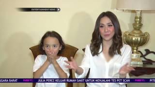 Bunga Citra Lestari Memberikan Kebebasan Untuk Anaknya Bermain Di Luar Rumah
