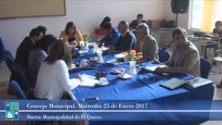 Concejo Municipal Miércoles 25 de Enero 2017