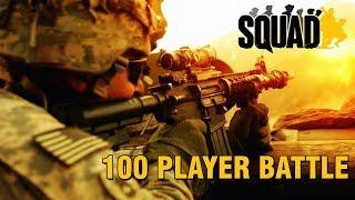 100 Player Battle | Squad V14 Gameplay