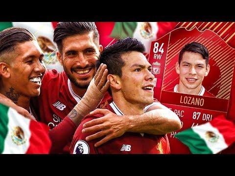 LIVERPOOL LOZANO! THE BEST SUPER SUB IN FIFA?! INFORM CHUCKY LOZANO SQUAD! FIFA 18 ULTIMATE TEAM