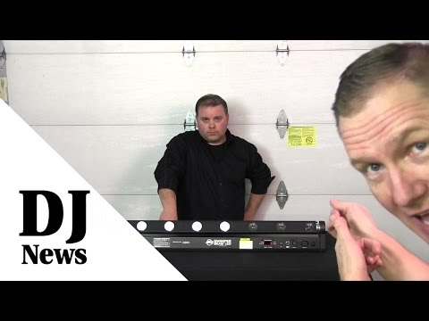 An Indepth Look At The ADJ Sweeper Beam LED: By The Disc Jockey News #adj