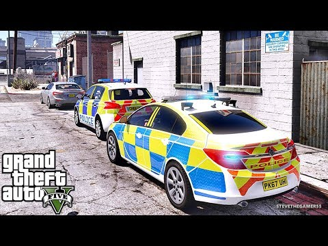 GTA 5 MODS LSPDFR 931 - BRITISH PATROL!!! (GTA 5 REAL LIFE PC MOD) TASER ONLY