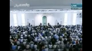 Friday Sermon 19th November 2010 (Russian)