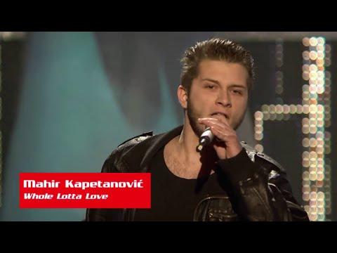 "Mahir Kapetanović: ""Whole Lotta Love"" - The Voice Of Croatia - Season1 - Blind Auditions5"