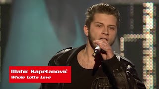 "Mahir Kapetanović: ""Whole Lotta Love"" - The Voice of Croatia - Season1 - Blind Auditions5"
