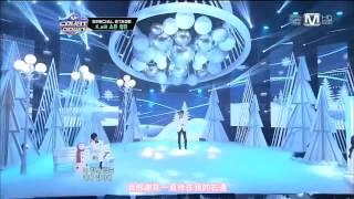 [繁中LIVE] 121220 K.Will, Soyou (SISTAR) & Jeongmin (Boyfriend) - White Love (X