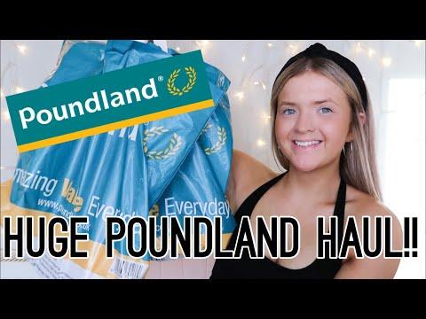 HUGE POUNDLAND HAUL!!! | AUGUST 2019 | HARRIET MILLS