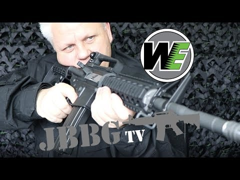 WE M4 RIS GAS AIRSOFT RIFLE