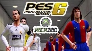 A Look @ Pro Evolution Soccer 6 on Xbox 360!