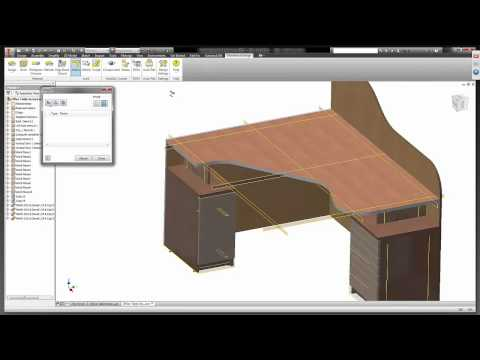 Woodwork for Inventor (hands on)