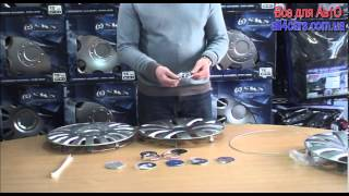 Колпаки на колеса SKS видео-обзор all4cars.com.ua