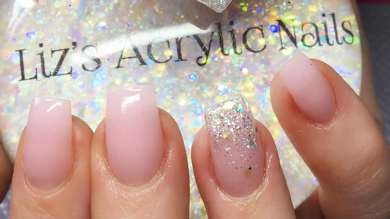 Acrylic Nails | Simple Square Nails | Amor - YouTube