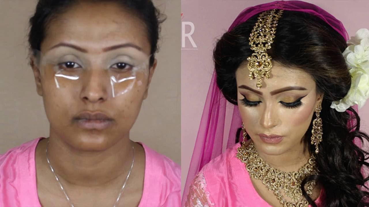 Mehndi Makeup Artist : Summer mehndi bride asian bridal makeup by sonia aktar youtube