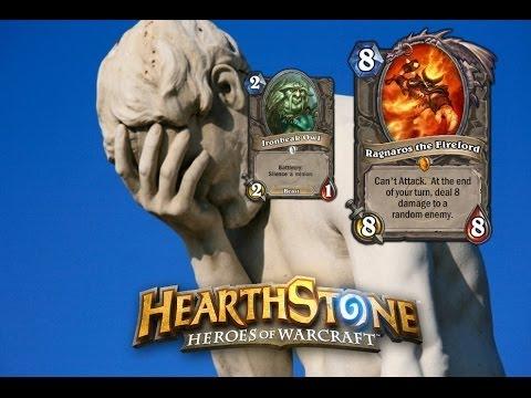 Hearthstone Tips: Silence + Enemy Ragnaros = Bad Idea. - YouTube
