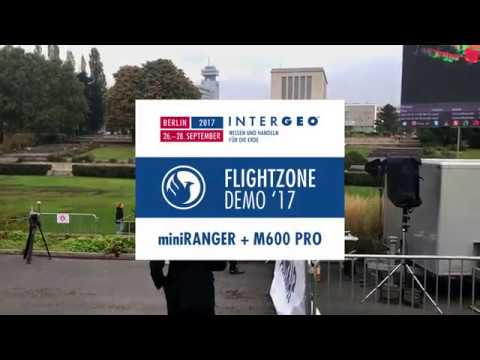 Phoenix LiDAR Systems Flightzone Demo - InterGEO 2017
