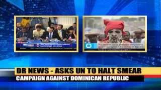 Asks UN agency to halt smear campaign against DR