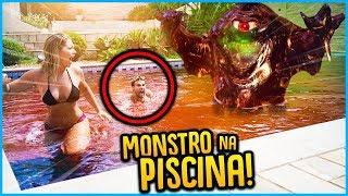 1 VS TODOS: PISCINA COM MONSTROS!! [ REZENDE EVIL ]