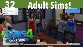 The Sims 4 Xbox One City Living Part 32-Adult Sims!