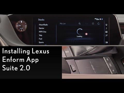 How-To Install Lexus Enform App Suite 2.0   Lexus