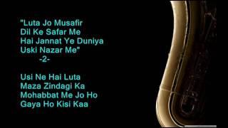 Hai Duniya Usiki Zamana Usika - Kashmir Ki Kali - Full Karaoke