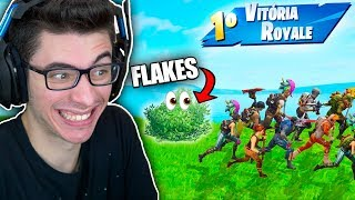 O DIA QUE VIREI UM ZÉ MOITINHA NO FORTNITE (TROLLEI)! Fortnite: Battle Royale