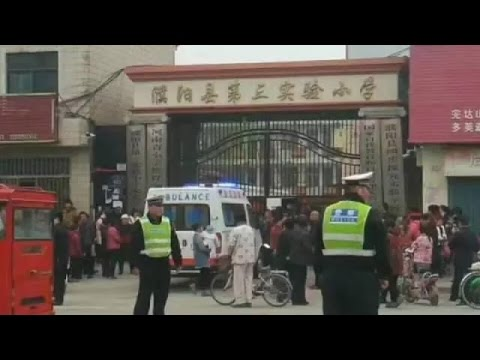 One dead, 20 injured in school stampede accident in central China's Henan Province