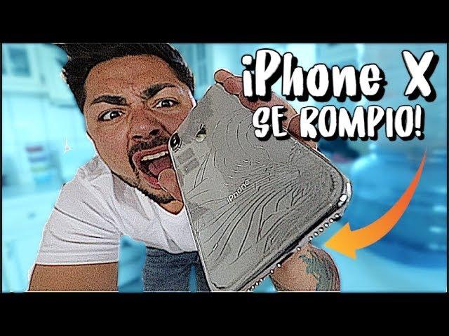 MI AMIGO ME ROMPIO MI iPHONE X!   Que Paso Mane