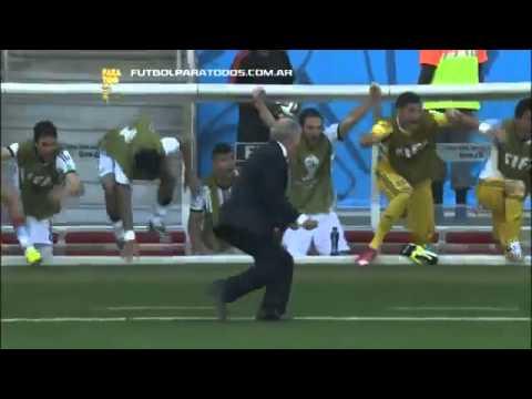 Gol de Messi vs Iran Argentina 1 Iran 0 Relatos de Alejandro Fantino