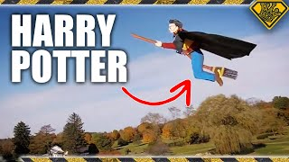 Can Broomsticks Really Fly?  We Found Out!
