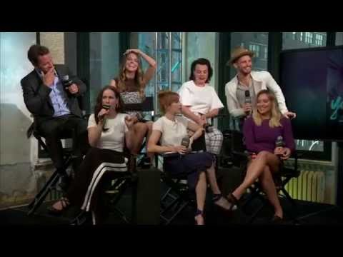 Hilary Duff and the cast of Younger on AOL Build - Sept 26 2016