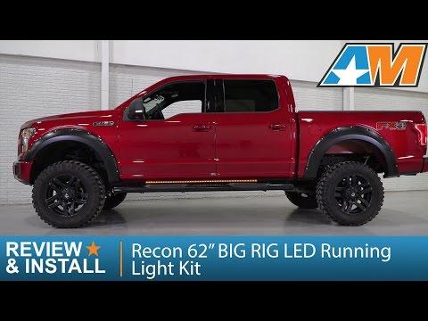 """Recon 26414 62/"""" Big Rig Amber Running Lights"""