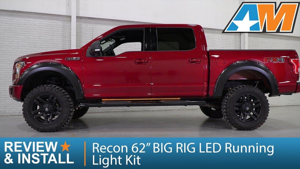 1997 2014 F 150 Recon 62 Big Rig Led Running Light Kit Review Jeep Tj Wiring Diagram For Blinkers Install