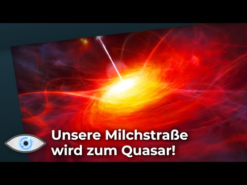 Das Zentrum unserer Galaxie entzündet sich!