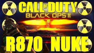 black ops 2 nuke with the remington 870 r870 mcs 25 killstreak