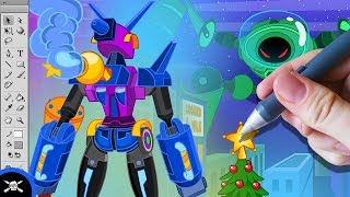 See James Draw - The TrainsFormers Christmas Special! thumbnail
