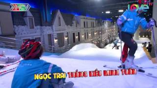 Chàng trai gốc Việt Thúc Lĩnh Lincoln trổ tài trượt tuyết siêu đẳng.
