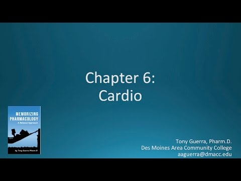 (CC) Top 200 Drugs Chapter 6 Cardio Nursing Pharmacology By Suffix (Memorizing Pharmacology)